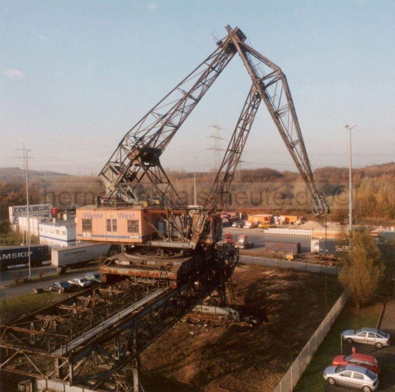 Der Krummer Hund als Industriedenkmal, 2011, Foto Stadtarchiv Herne