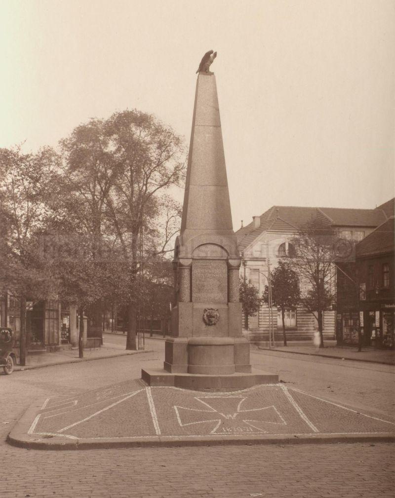 Kaiserbrunnen Sodingen, 1927, Foto Stadtarchiv Herne