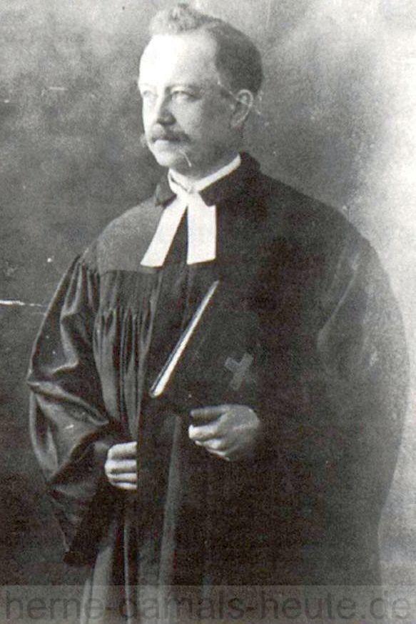 Pfarrer Otto Koetter, Foto Stadtarchiv Herne