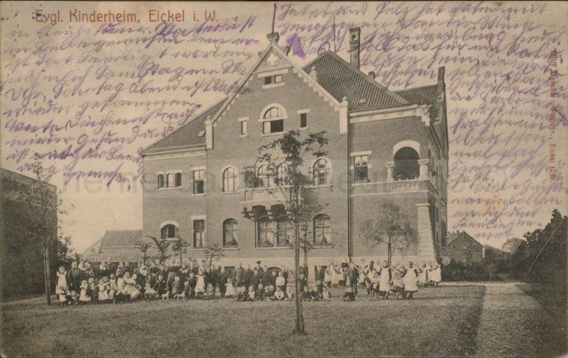 Postkarte Ev. Kinderheim an der Kanonierstraße (Hirtenstraße), 1908, Foto Horst Schröder