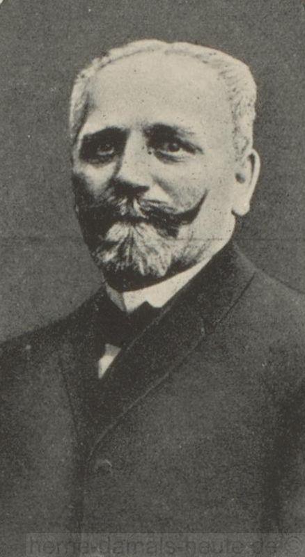 Amtmann Friedrich Winter, Foto Stadtarchiv Herne