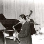 Bill Coleman mit Band bei seinem...