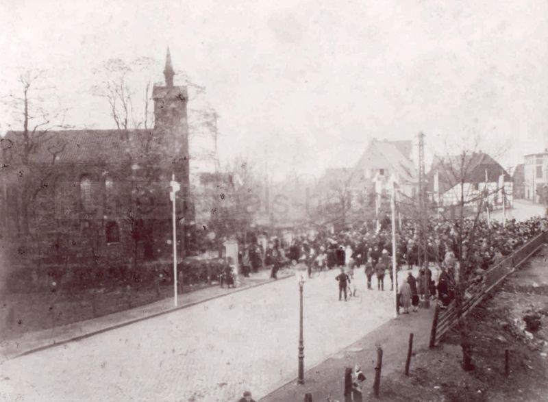 Cranger Kirche, 1920, Foto Stadtarchiv Herne