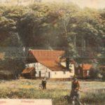 Gysenberger Wald mit Försterei, 1906, Foto Stadtarchiv Herne
