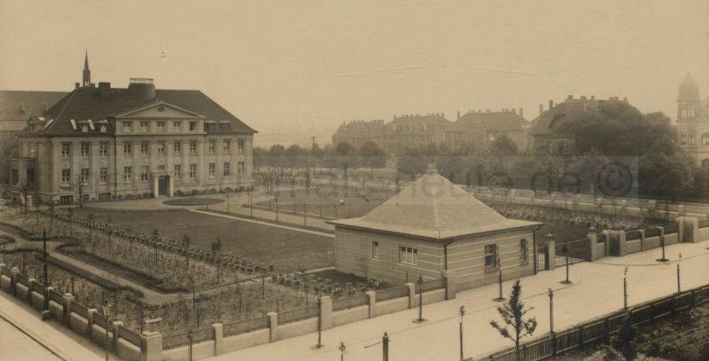 Hauptverwaltung der Zeche 'Friedrich der Große', 1929, Foto Stadtarchiv Herne