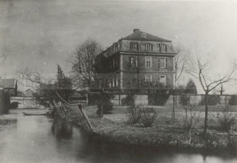 Haus Dahlhausen in Bochum-Hordel, Foto Stadtarchiv Herne