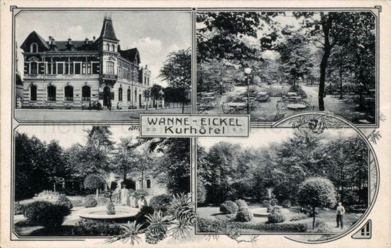 Kurhotel Wanne-Eickel, 1950er Jahre, Foto Stadtarchiv Herne