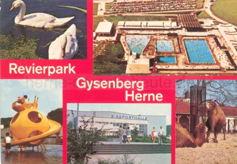 Revierpark Gysenberg, 1970er Jahre, Foto Stadtarchiv Herne