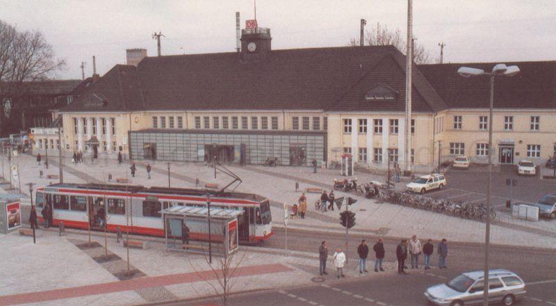 Wanne-Eickel Hauptbahnhof, 2001, Foto Stadtarchiv Herne