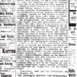 Aufruf an die gesamte Bevölkerung, 04.12.1918, Repro Norbert Kozicki