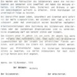 Auszug aus 'Der Kaiser ist weg!', Repro Norbert Kozicki