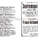 Parteiaufrufe zu Versammlungen, Repro Norbert Kozicki