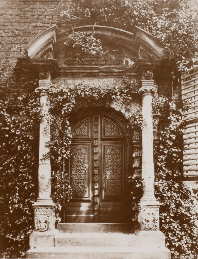 Dorneburger Portal, Foto Stadtarchiv Herne