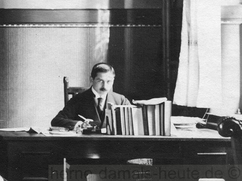 Eduard Schulte, Stadtarchivar in Münster zu Zeiten des Ersten Weltkrieges, Foto Stadt Münster