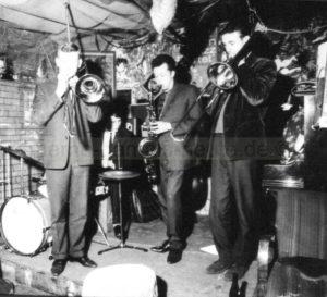 Englische Musiker in der Jazz-Wanne, Repro Norbert Kozicki