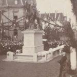Enthüllung des Kaiser-Wilhelm-Denkmals am 27.09.1903, v. r. Bürgermeiser Hermann Schaefer, Foto Stadtarchiv Herne
