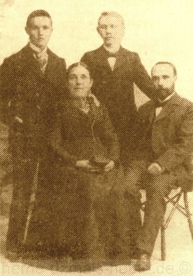 Familie Hegler, 1898, Repro Stadtarchiv Herne