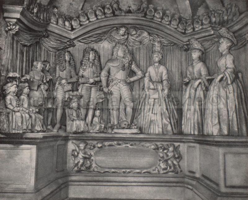 Grabdenkmal (Epitaph) des Conrad von Strünkede zu Dorneburg, Foto Stadtarchiv Herne