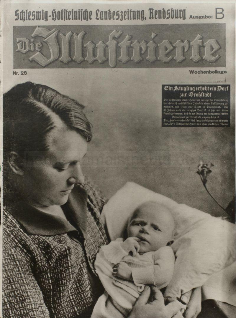 Wochenbeilage der Schleswig-Holsteinischen Landeszeitung, Juli 1933, Repro Stadtarchiv Herne