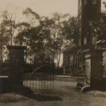 Zugang zur Dorneburg, um 1930, Foto Stadtarchiv Herne