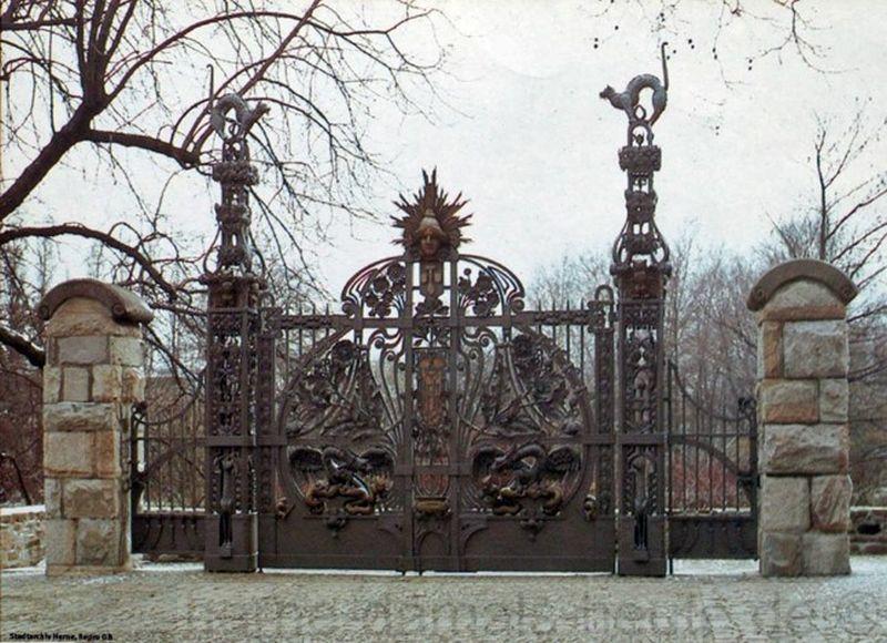 Das Flottmann-Tor im Hof des Schloss-Strünkede, Repro Stadtarchiv Herne