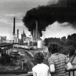 Das Kesselunglück am 5. August 1984. Foto Wolfgang Quickels