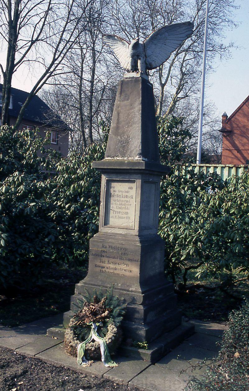 Denkmal '200 Jahre Preußen', 2008, Foto Stadtarchiv Herne