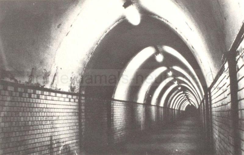 Der alte Möllertunnel, Anfang 1960er Jahre, Foto Robert Grabski