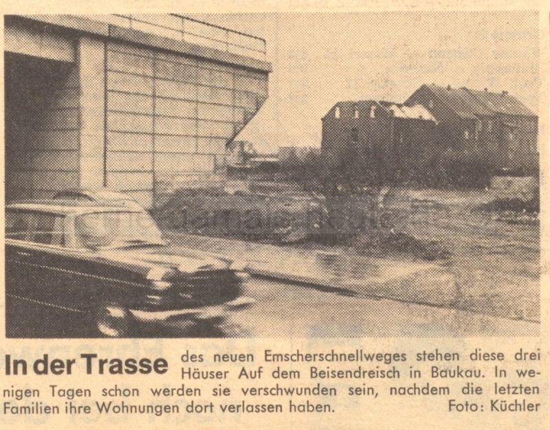 Ruhr-Nachrichten, 13.03.1967, Repro Stadtarchiv Herne