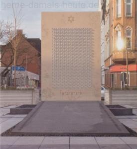 Shoah-Denkmal, 2010, Foto Bildarchiv Herne