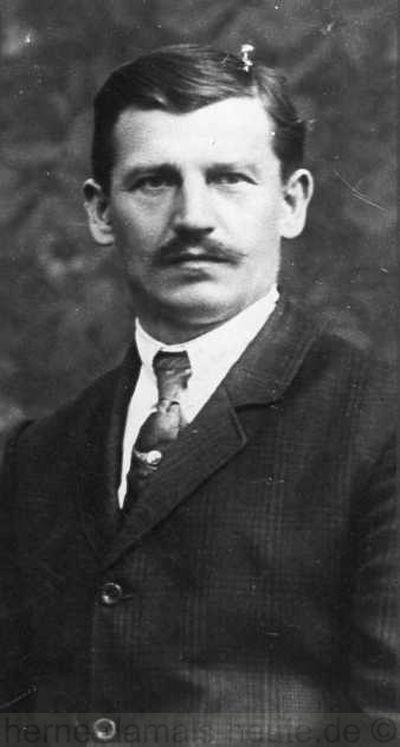 Der Sozialdemokrat und spätere Gemeindevorsteher von Röhlinghausen Anton Wandzioch, Repro Norbert Kozicki