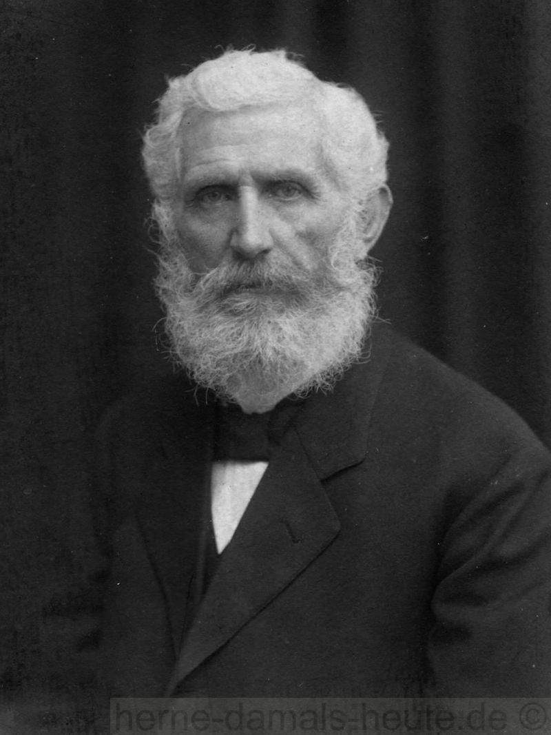 Friedrich Brockhoff, um 1910, Foto Stadtarchiv Herne