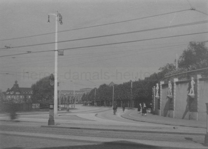 Dreimännereck, um 1930, Foto Stadtarchiv Herne