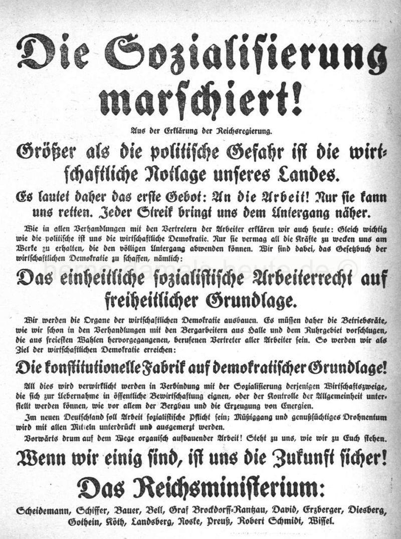 Erklärung der Reichsregierung, Repro Norbert Kozicki