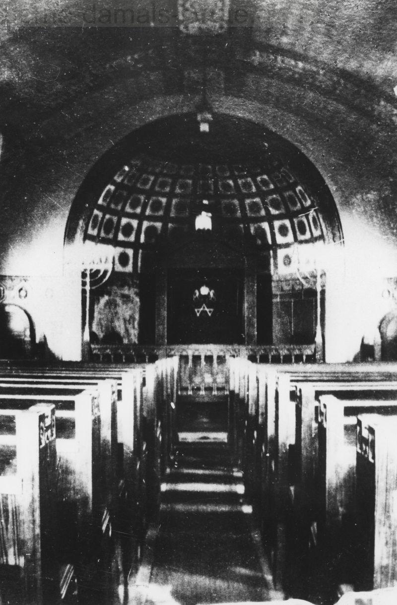 Innenansicht der Synagoge Wanne-Eickel, Foto Stadtarchiv Herne