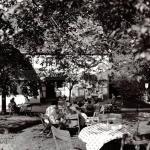 Rast im Garten des Hauses Kranenberg, 1960er Jahre, Foto Stadtarchiv Herne