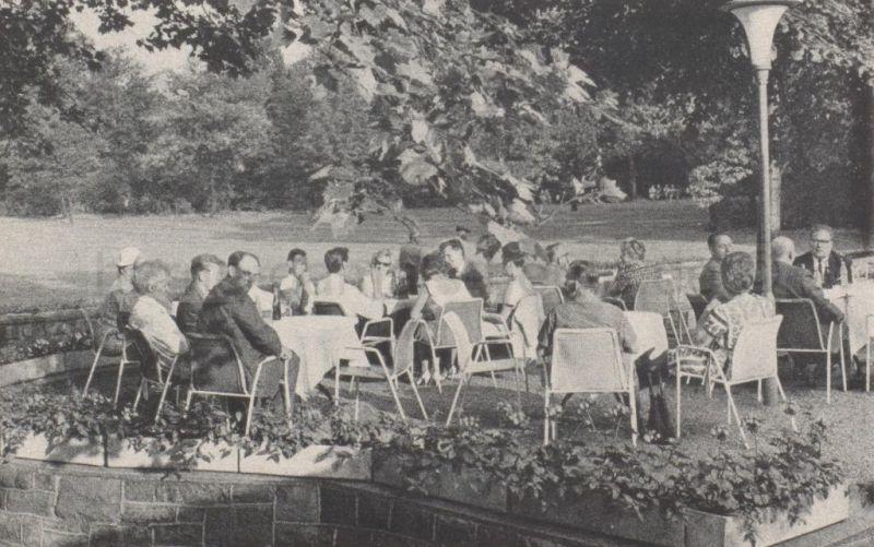 Volksgarten Eickel, Sommer 1964, Repro Stadtarchiv Herne