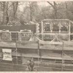 Die Reste vom Baukauer Amtshaus, WAZ vom 13.04.1999, Repro Stadtarchiv Herne
