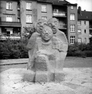 'Das Tor' I, 1960, Foto Rolf Bauman, Bildarchiv Herne