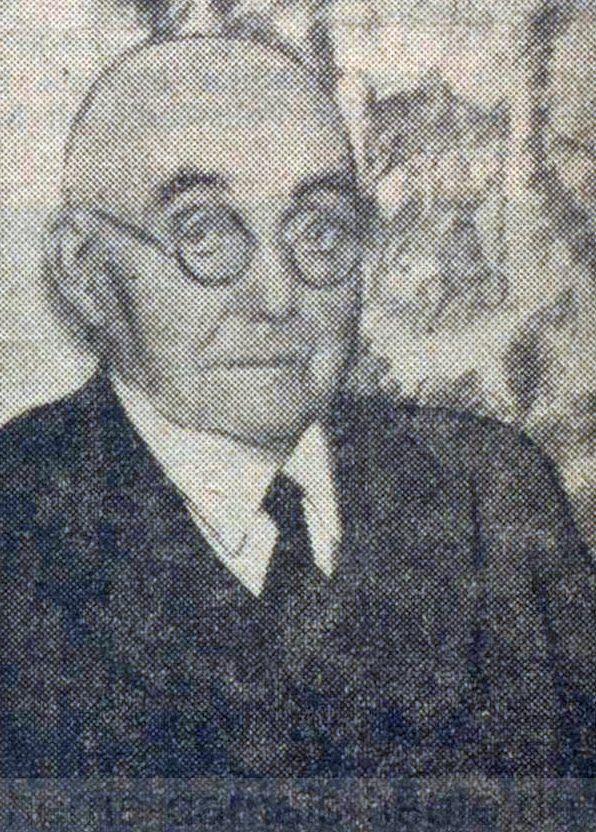 Heinrich Funcke, Westfälische Rundschau vom 02.11.1950, Repro Stadtarchiv Herne