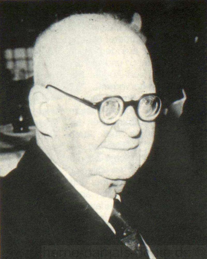 Karl Hölkeskamp, um 1950, Foto Bildarchiv Herne