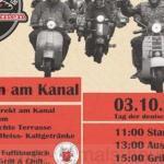 Nostalgieveranstaltung 'Abrollen am Kanal' am 03.10.2017, Repro Norbert Kozicki