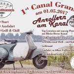 Nostalgieveranstaltung 'Anrollen am Kanal' am 01.05.2017, Repro Norbert Kozicki