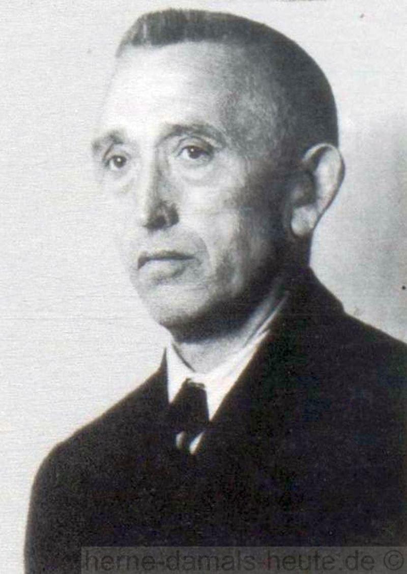 Heinrich Crämer, Repro Stadtarchiv Herne