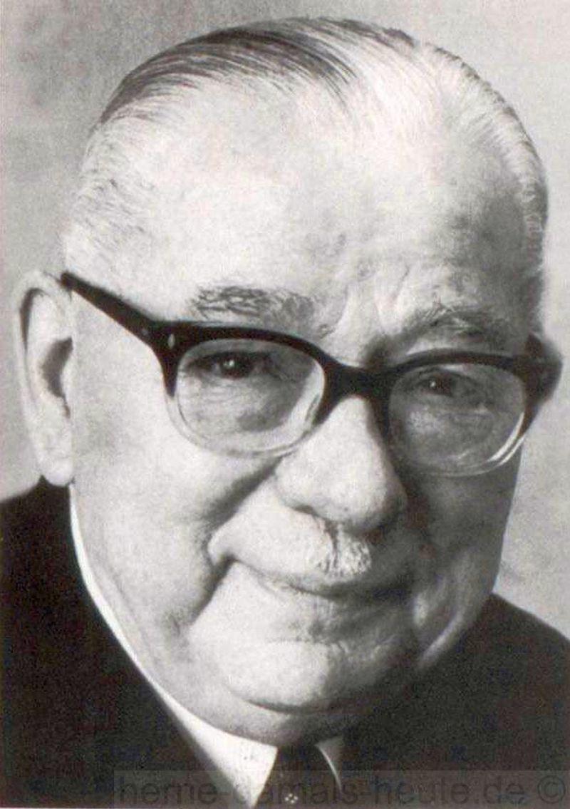 Heinrich Weidmann, Repro Stadtarchiv Herne