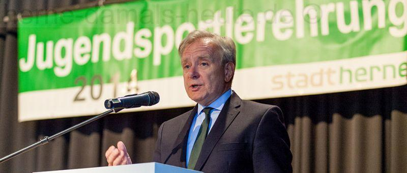 Horst Schiereck, Foto Frank Dieper, Bildarchiv Herne